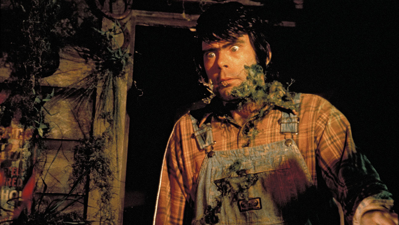 A mutating Stephen King in The Lonesome Death of Jordy Verrill episode in Creepshow (1982)