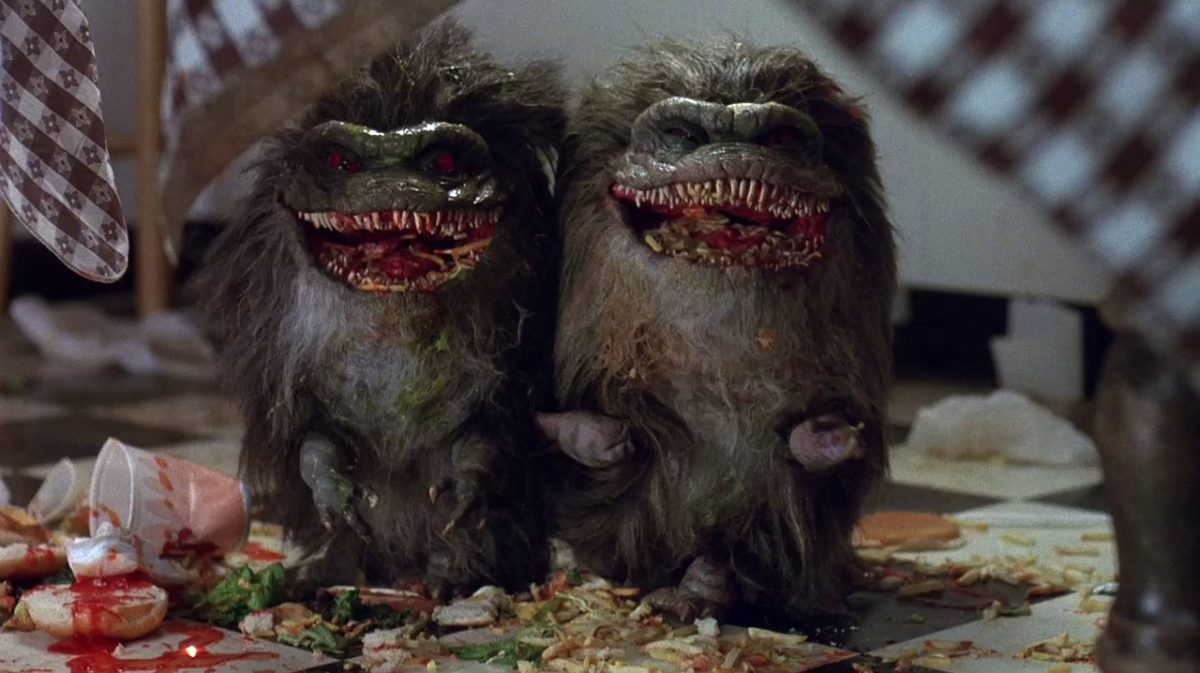 Two of the Krites from Critters (1986)