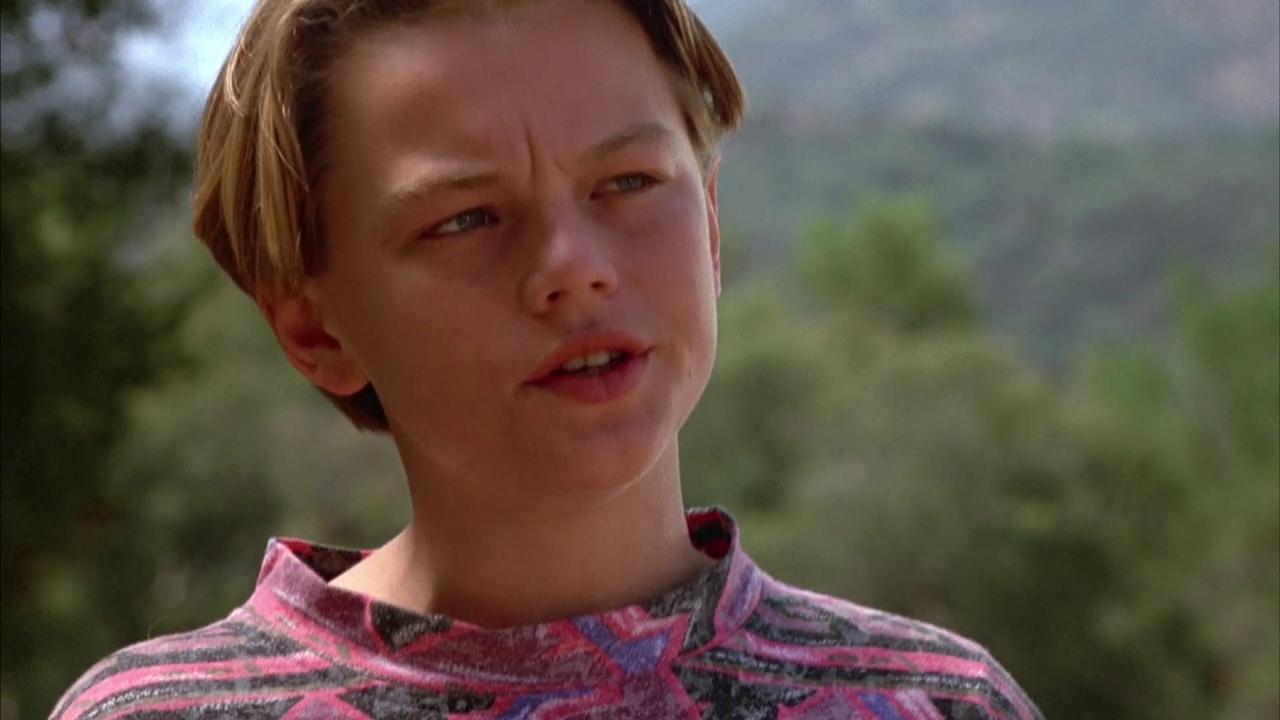 A teenage Leonardo DiCaprio in his film debut in Critters 3 (1991)