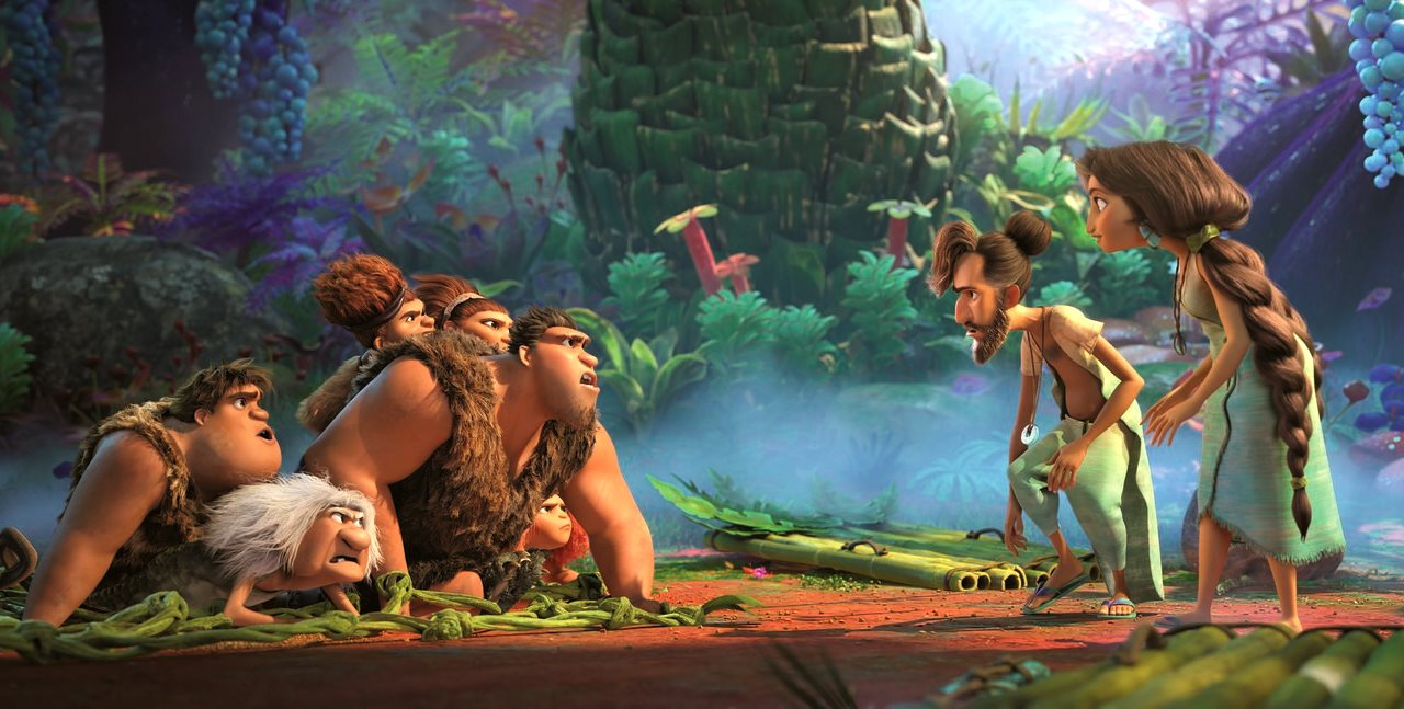 The Croods meets the Bettermans in The Croods: A New Age (2020)