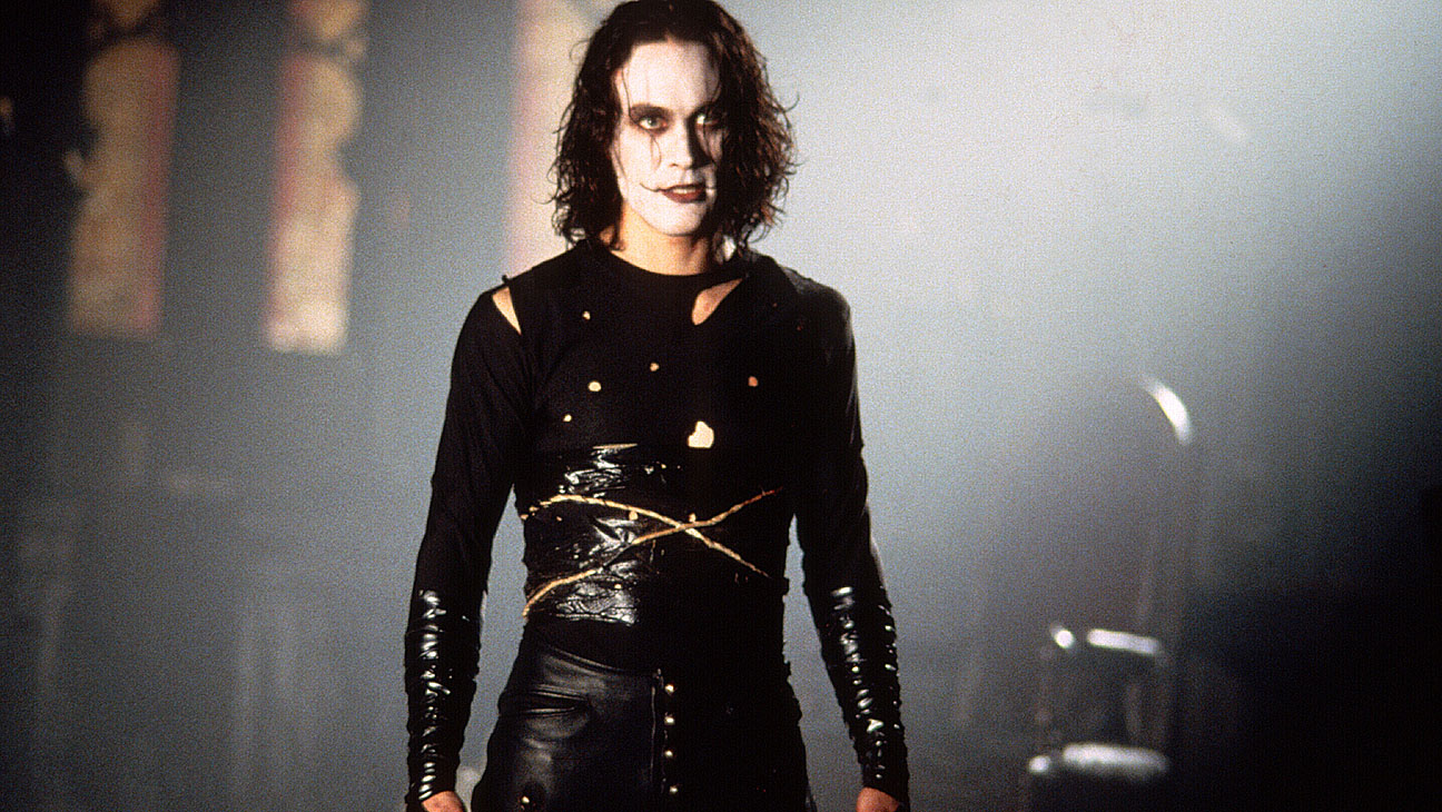 Brandon Lee in his finest and tragically last role as the resurrected Eric Draven in The Crow (1994)
