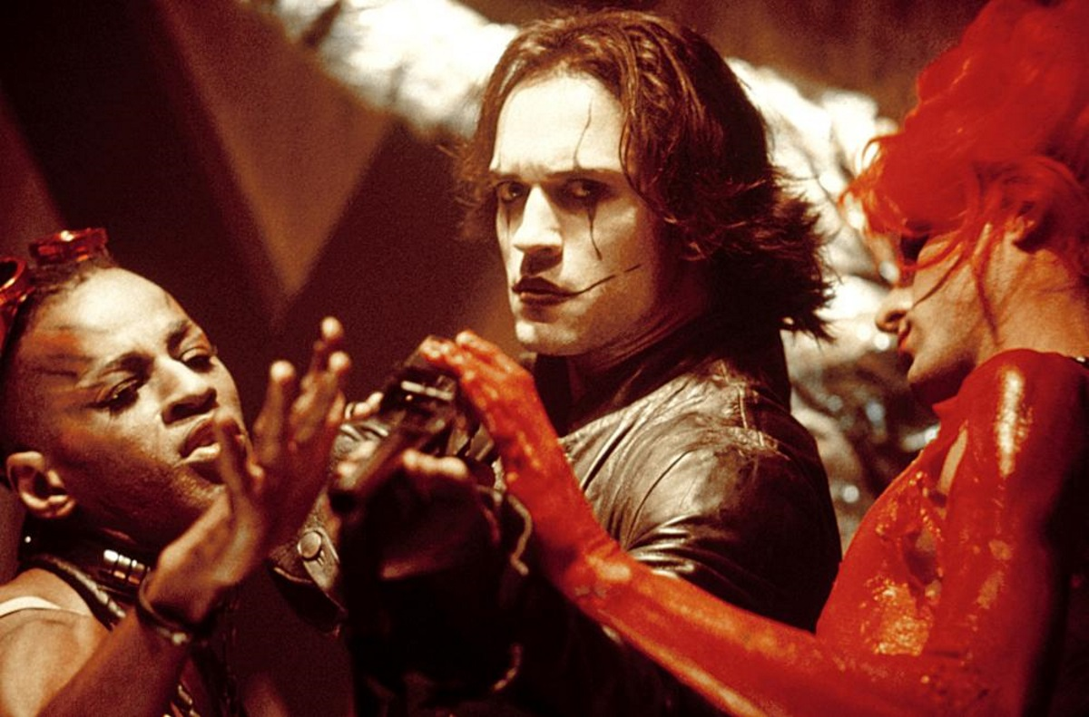 Vincent Perez as Ashe Corven in The Crow: City of Angels (1996)