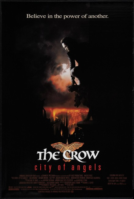 The Crow City of Angels (1996) poster