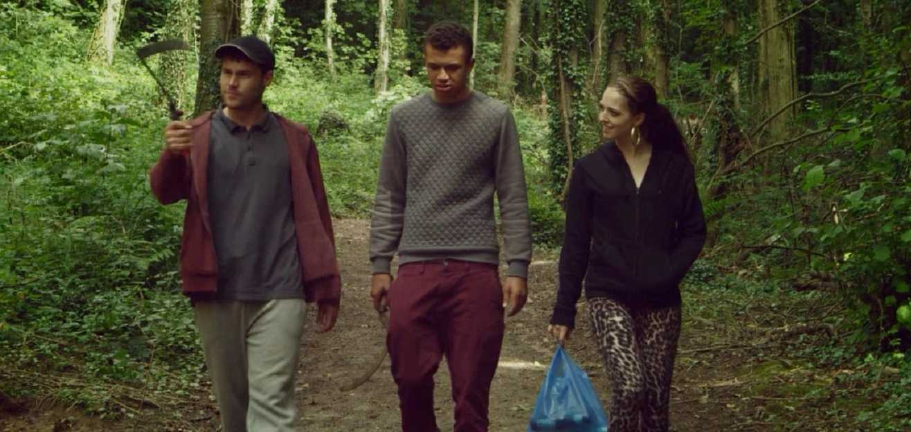 Danny Miller, Reece Douglas and Natalie Martins in Cruel Summer (2016)
