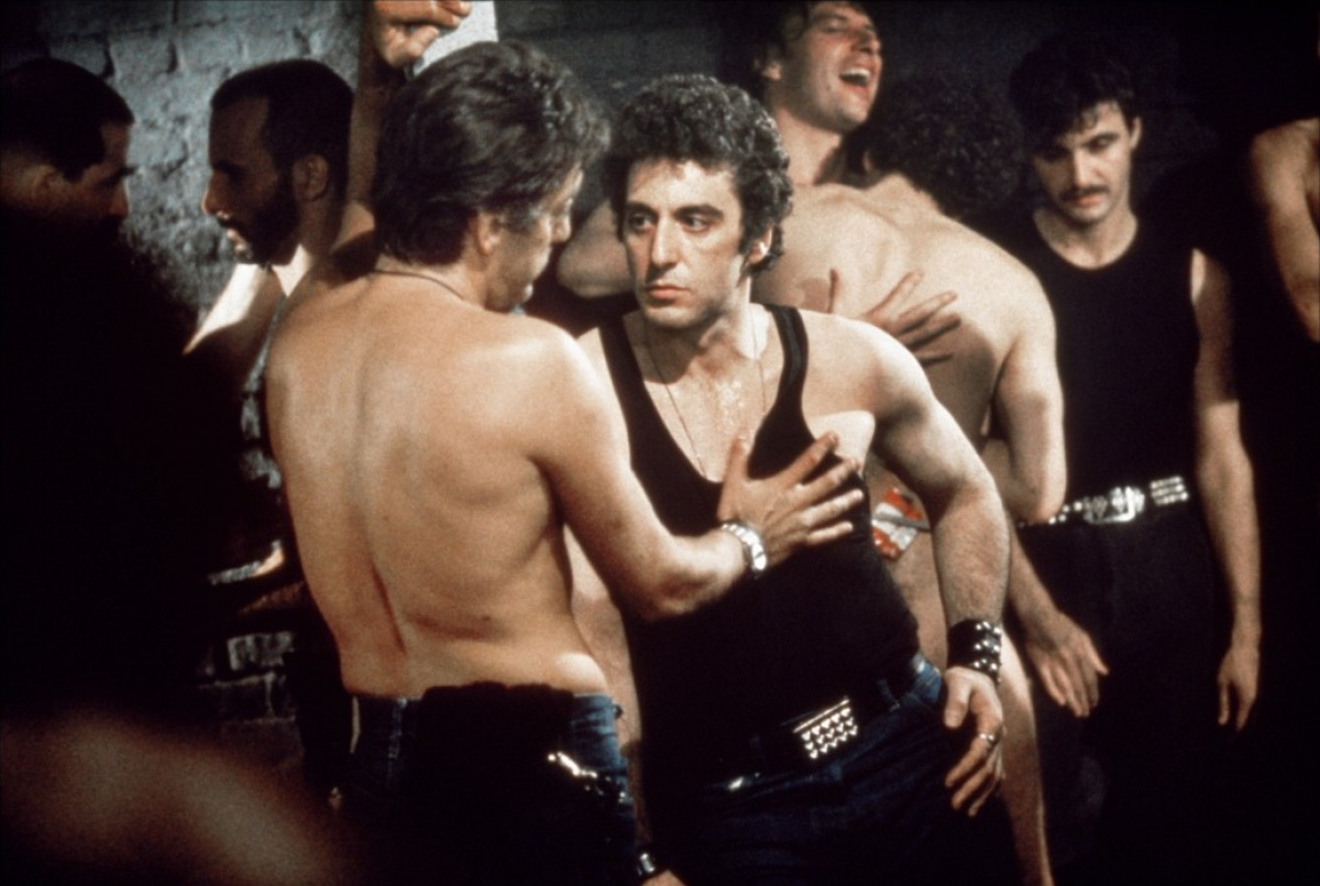 Straight cop Al Pacino goes undercover in New York's gay community in Cruising (1980)