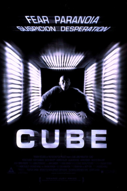 Cube (1997) poster