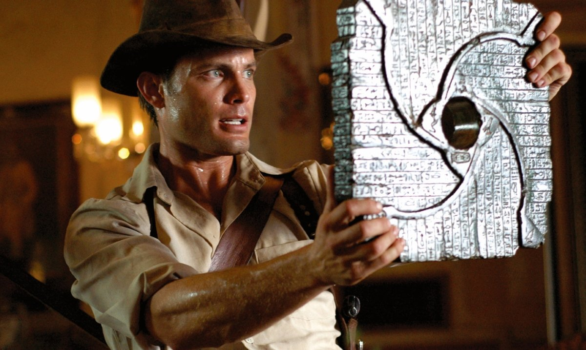 Casper Van Dien in The Curse of King Tut's Tomb (2006)