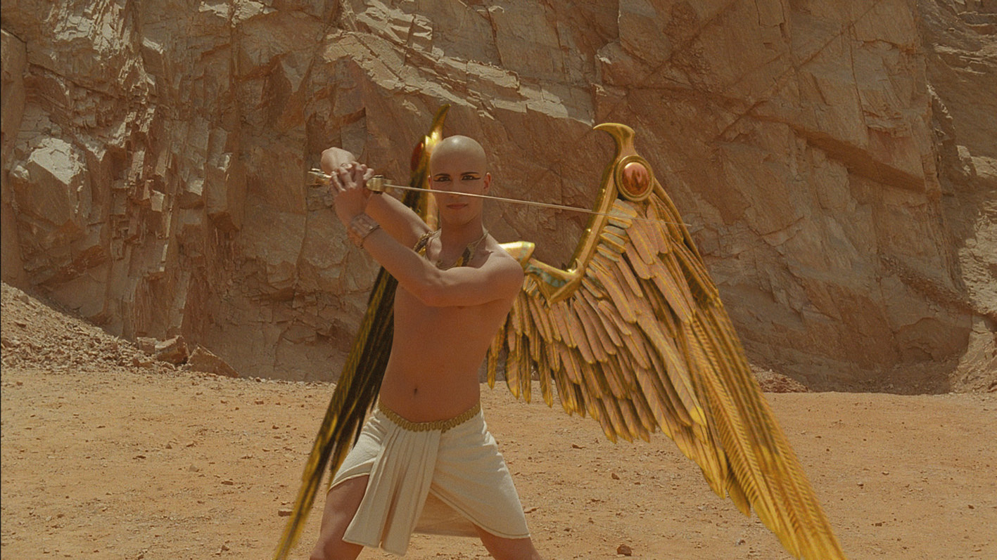 Tutankhamun (Fransisco Bosch) in The Curse of King Tut's Tomb (2006)