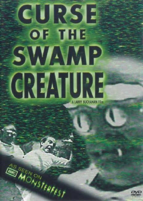 Curse of the Swamp Creature (1966) dvd cover