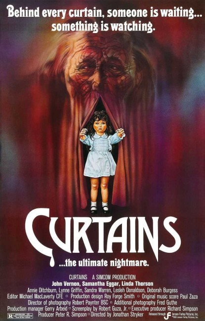 Curtains (1983) poster