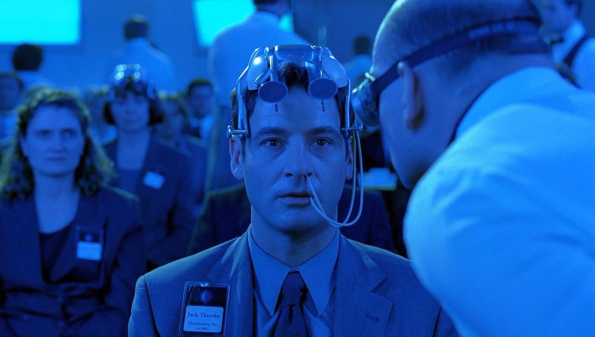 Jeremy Northam undergoes brainwashing in Cypher (2002)