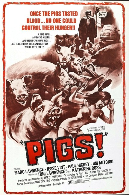 Daddy's Deadly Darling (1973) (aka Pigs) poster