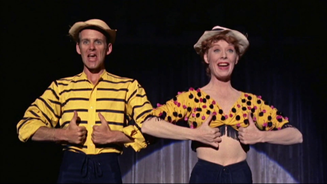 Famed choreographer Bob Fosse in a number with later-to-be-wife Gwen Verdon in Damn Yankees (1958)