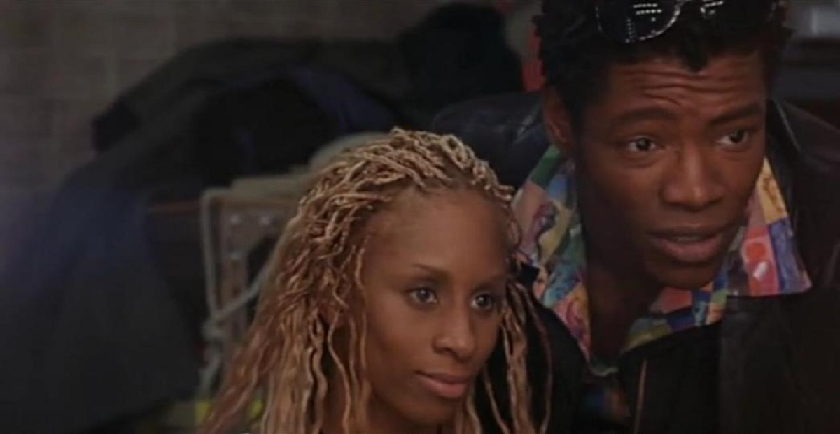 Mia Frye and her brother Garland Whitt in The Dancer (2000)