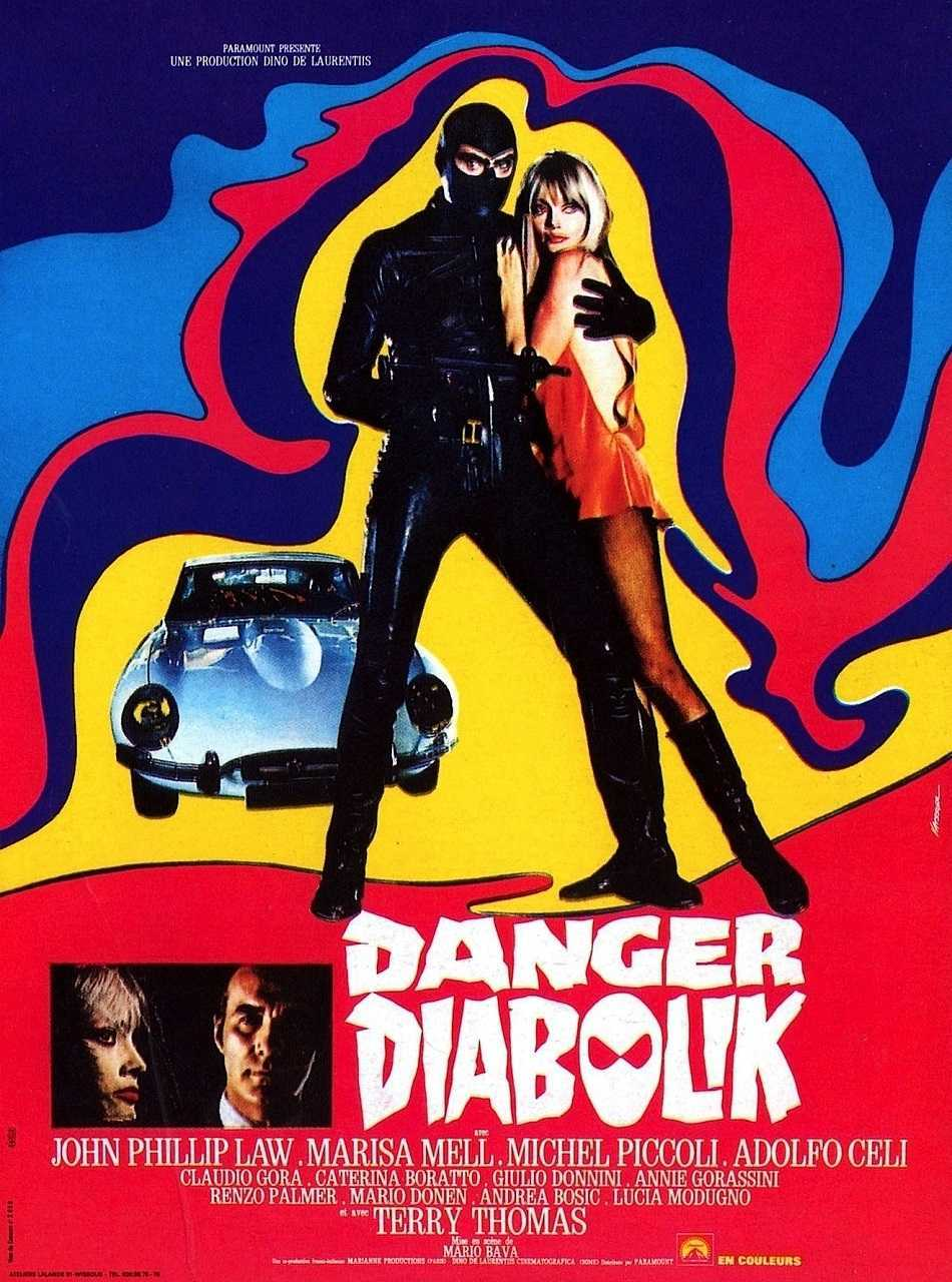 Danger: Diabolik (1967) poster