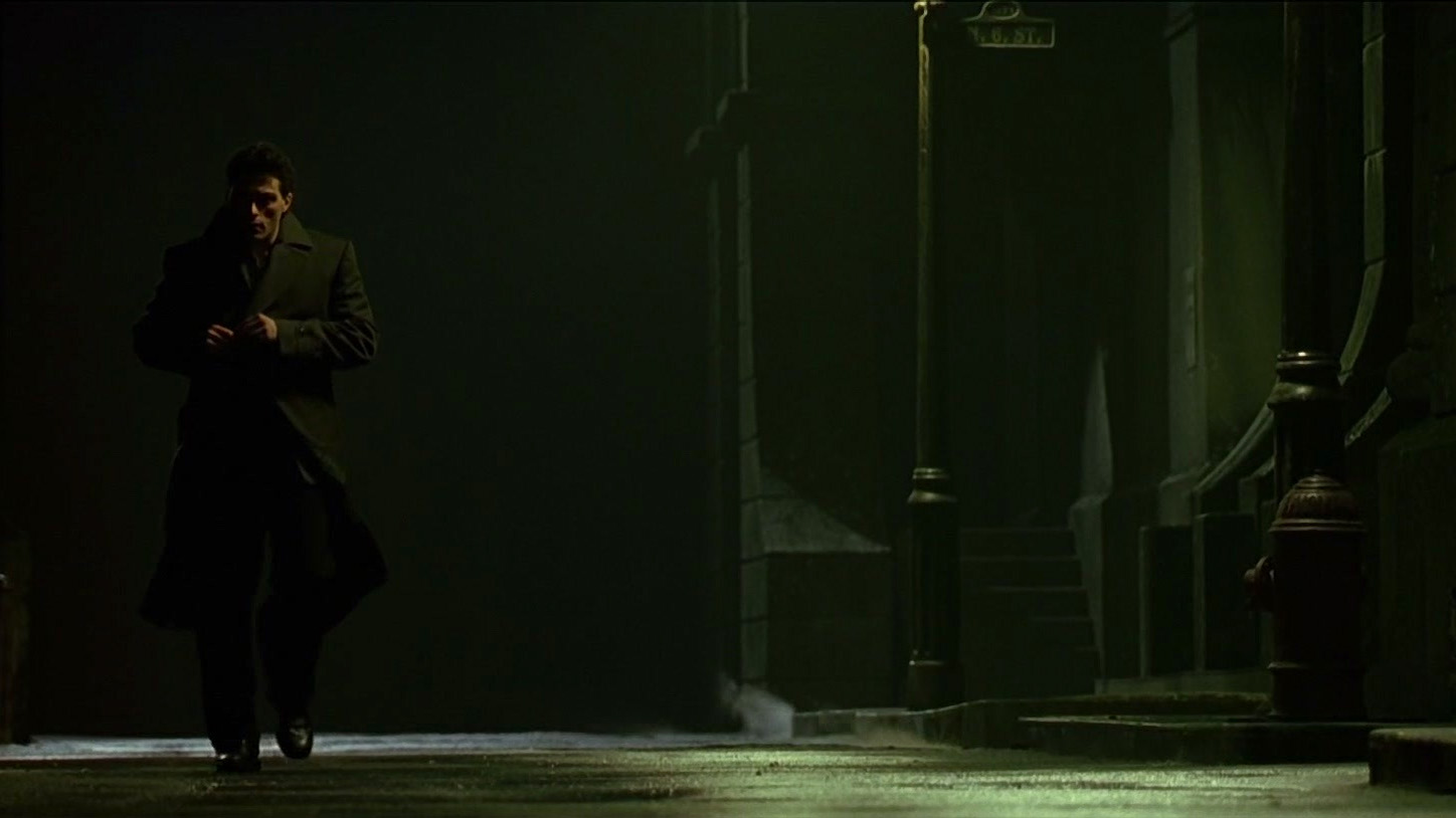 Rufus Sewell in the Dark City (1998)