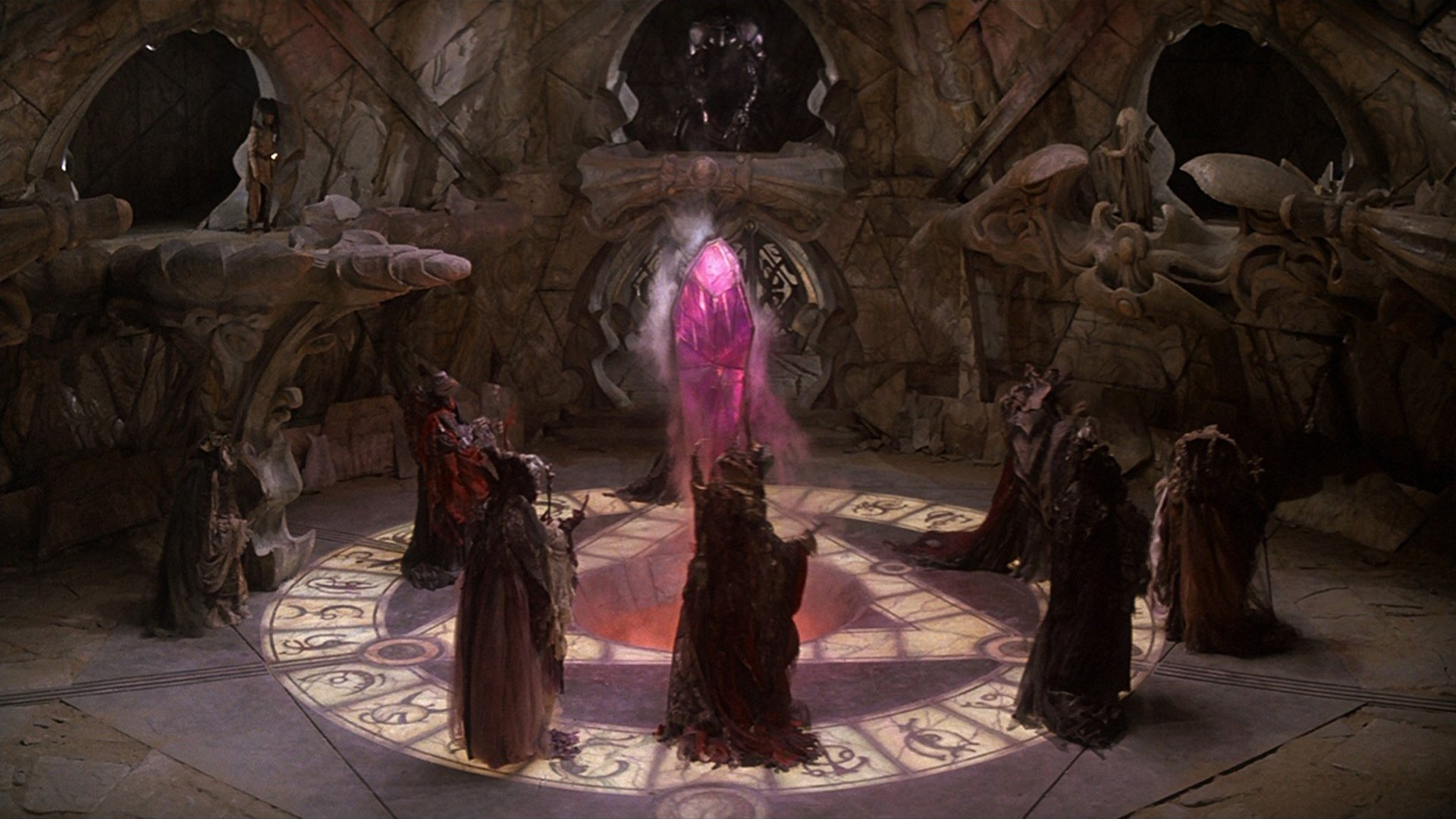 The Mystics in The Dark Crystal (1982)