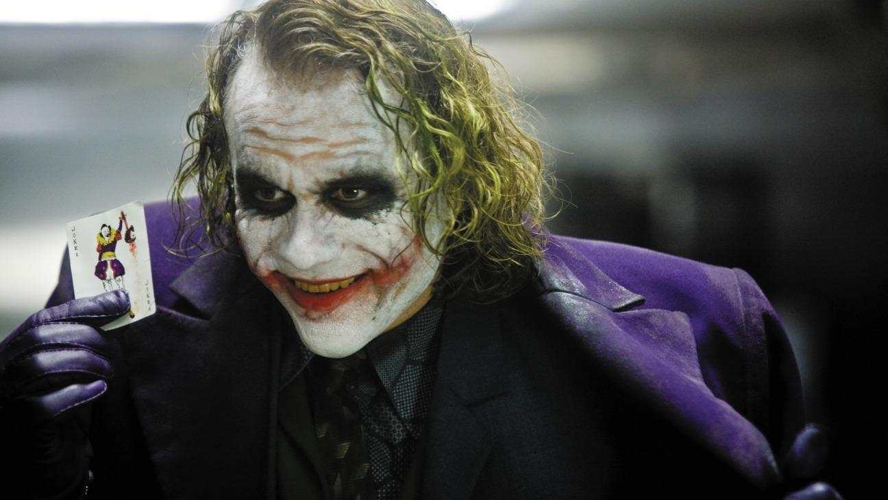 The Joker (Heath Ledger) in The Dark Knight (2008)