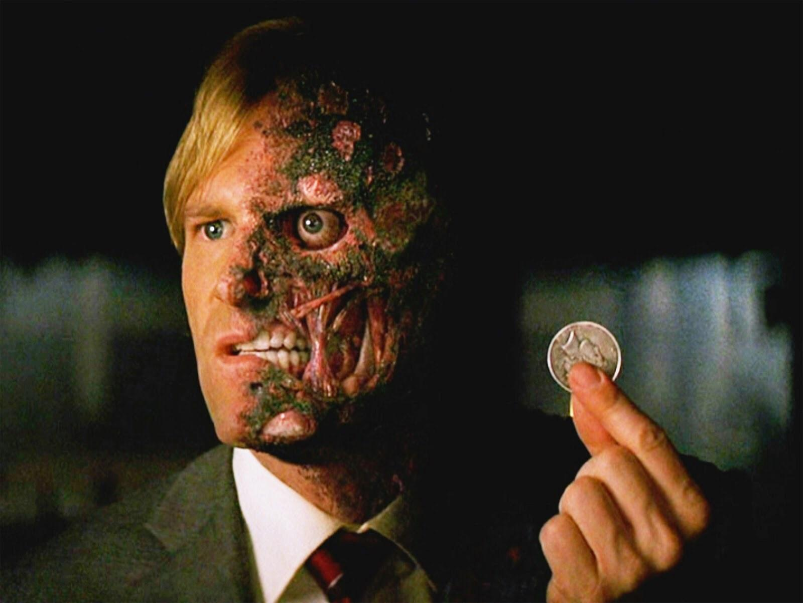 Harvey Dent/Two-Face (Aaron Eckhart) in The Dark Knight (2008)