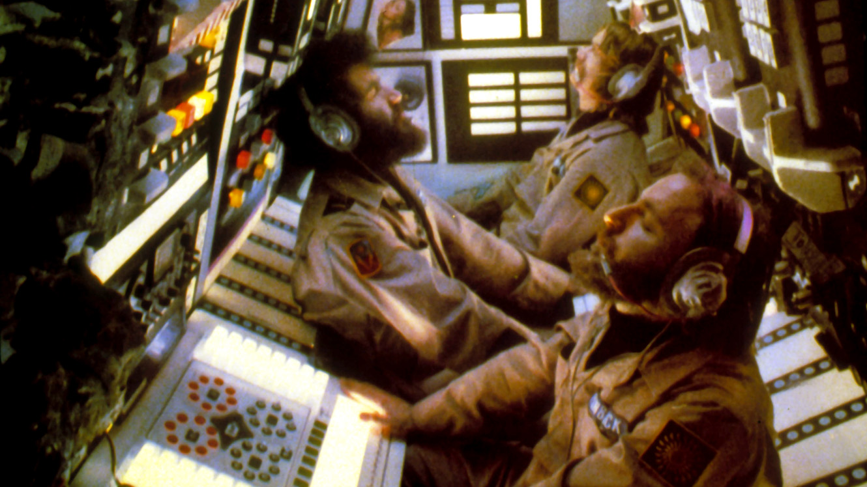 Dan O'Bannon, Brian Narelle, Cal Kuniholm in Dark Star (1974)