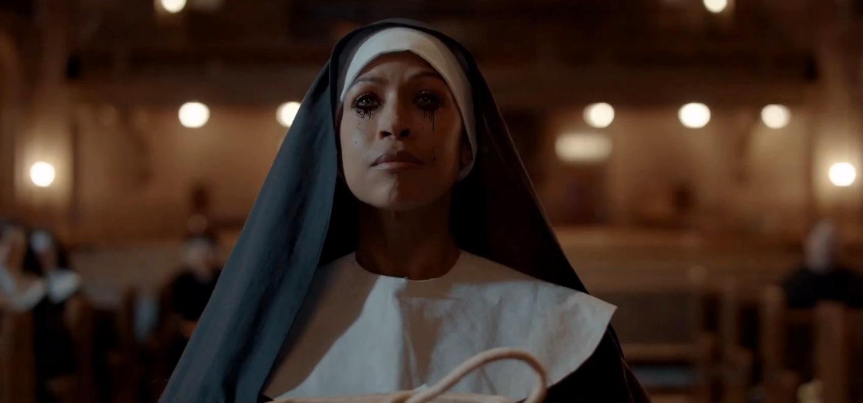 Devanny Pinn as a nun in The Dawn (2019)