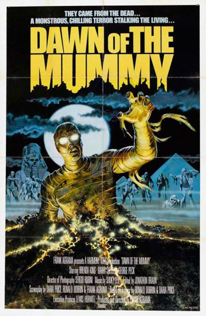 Dawn of the Mummy (1981) poster