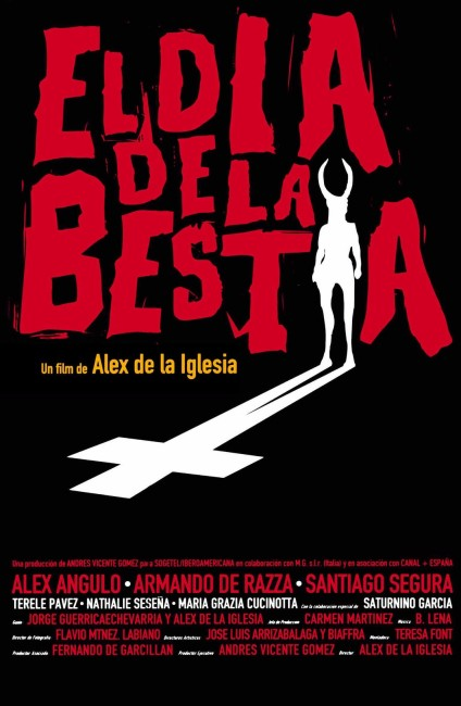 The Day of the Beast (1995) poster