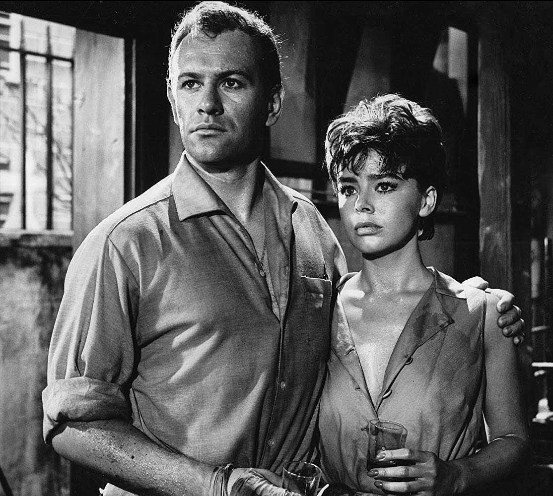 Edward Judd and Janet Munro
