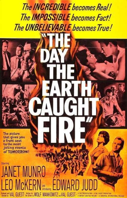 The Day the Earth Caught Fire (1961) poster