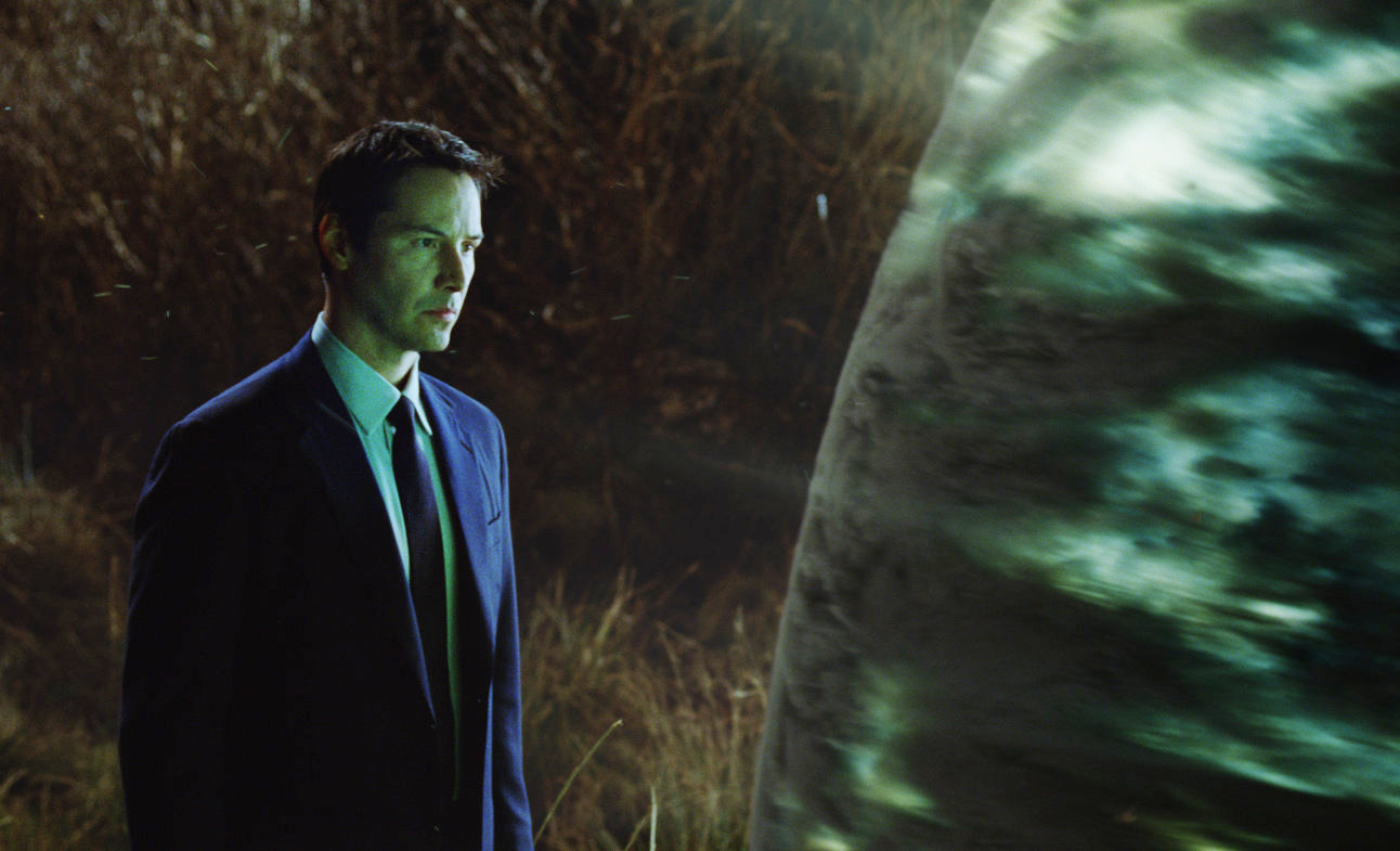 Keanu Reeves as Klaatu in The Day the Earth Stood Still (2008)