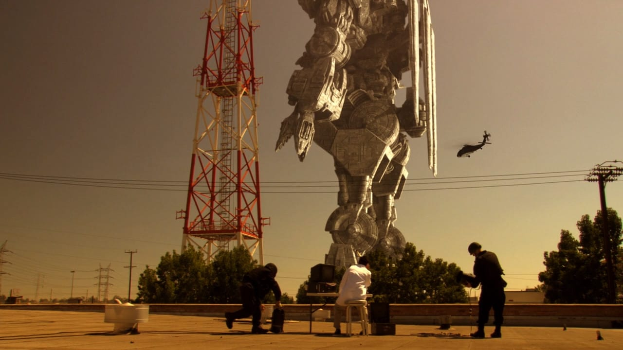 One of the giant Megalith robots in The Day the Earth Stopped (2008)