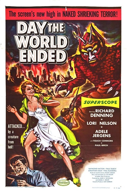 Day the World Ended (1955) poster