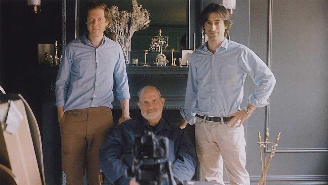 Brian De Palma, Jake Paltrow and Noah Baumbach in De Palma (2015)