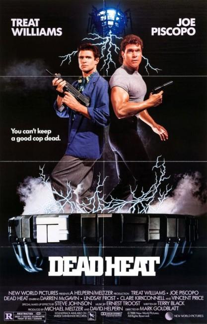 Dead Heat (1988) poster