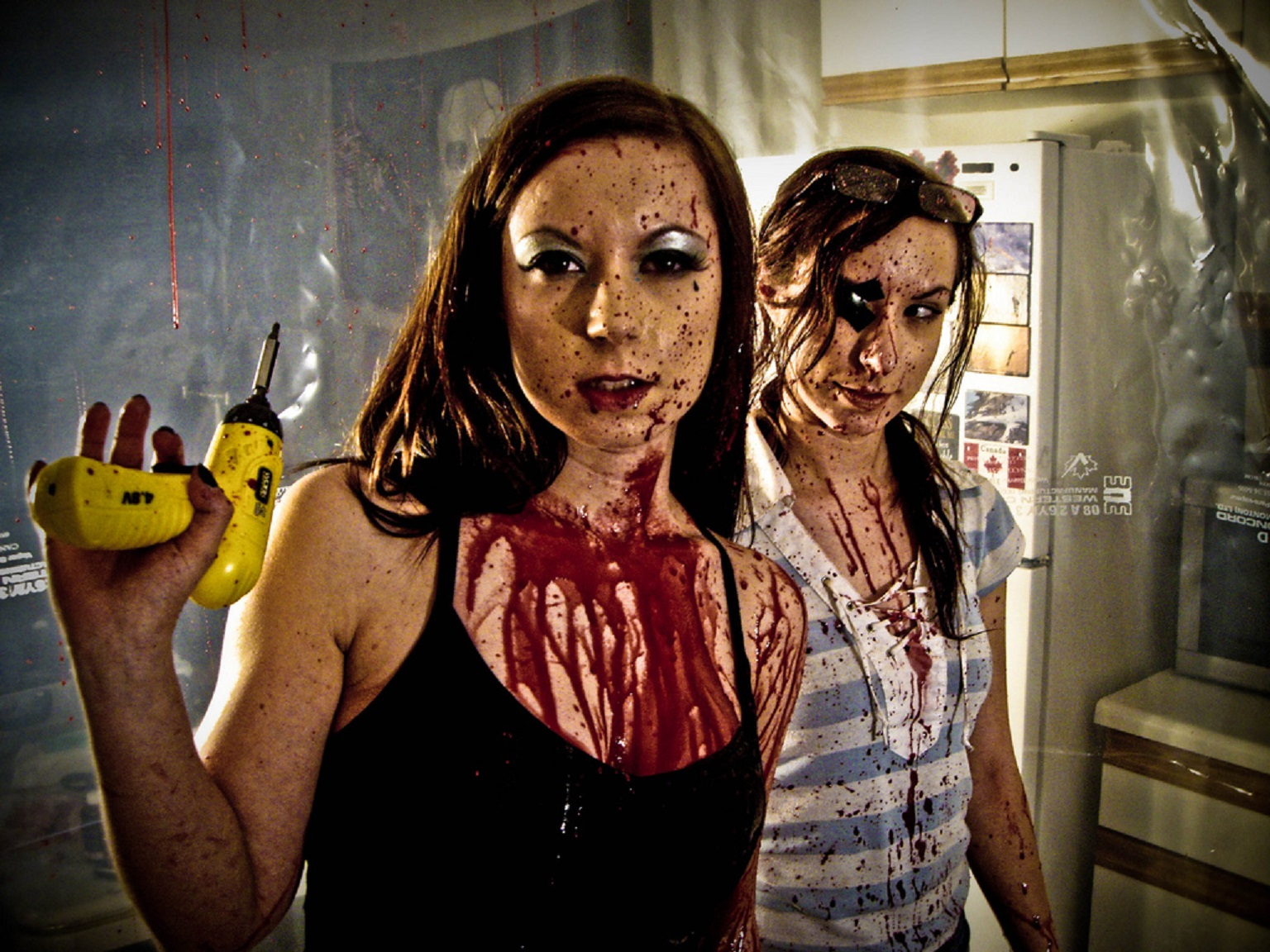 Jen and Sylvia Soska in Dead Hooker in a Trunk (2010)
