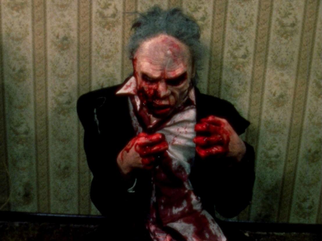 Zombies in The Dead Next Door (1989) poster