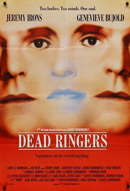 Dead Ringers (1988) poster