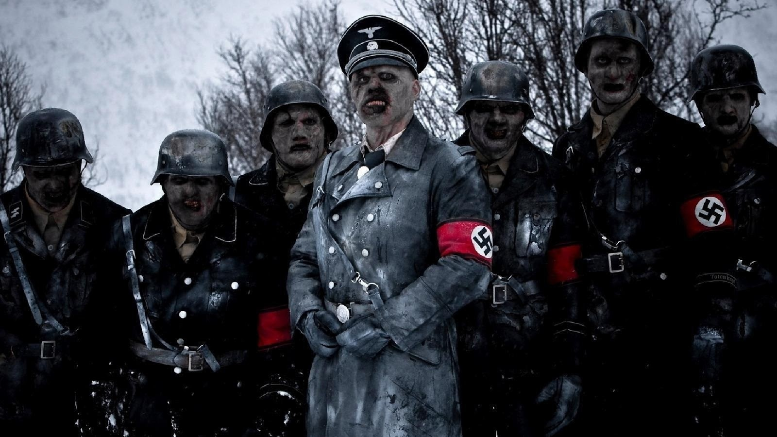 Nazi zombies in Dead Snow (2009)