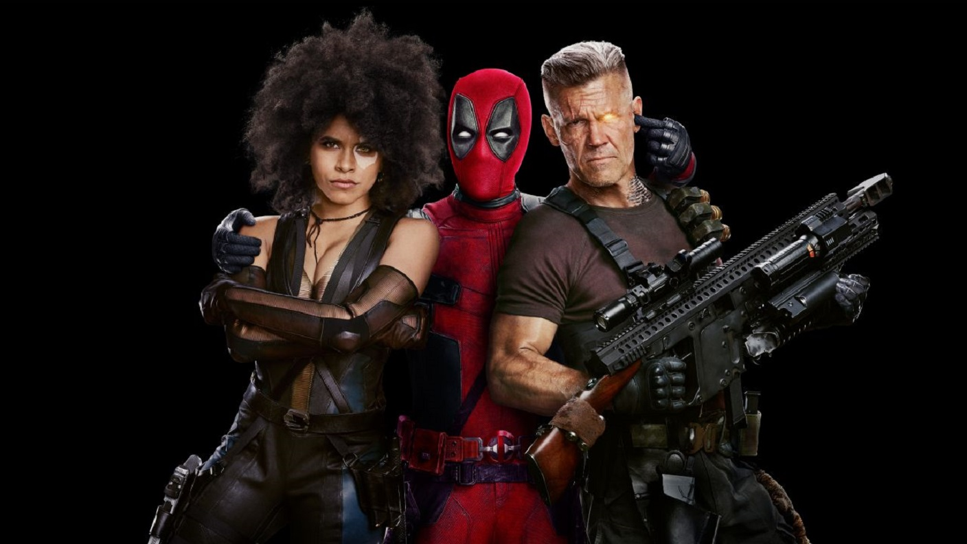 Deadpool (Ryan Reynolds), Cable (James Brolin) in Deadpool 2 (2018)