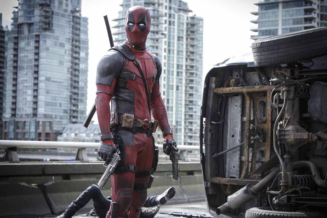Ryan Reynolds as Deadpool in Deadpool (2016)