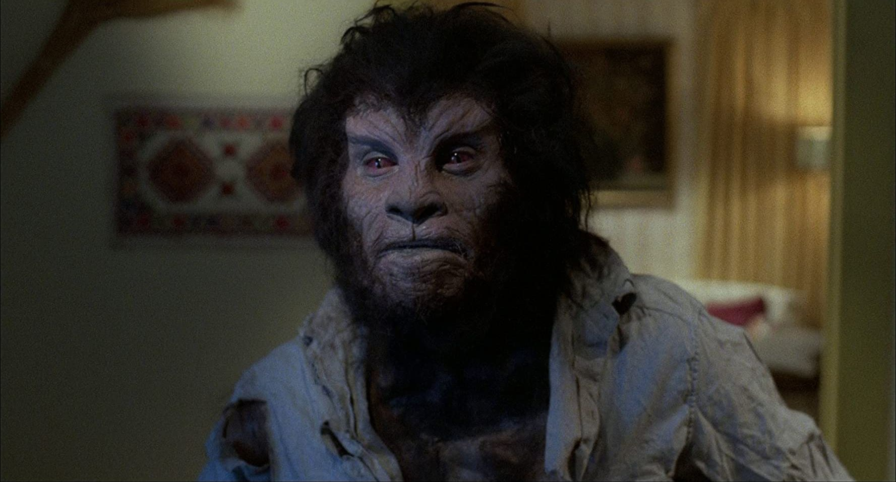 Matt Mitler as the werewolf in the Little Red RunningHood episode of Deadtime Stories (1986)