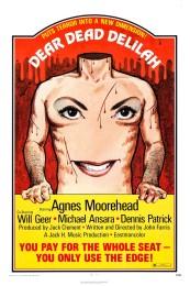 Dear Dead Delilah (1972) poster