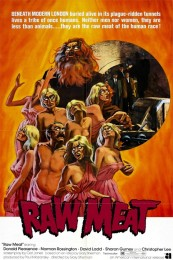 Death Line/Raw Meat (1972) poster