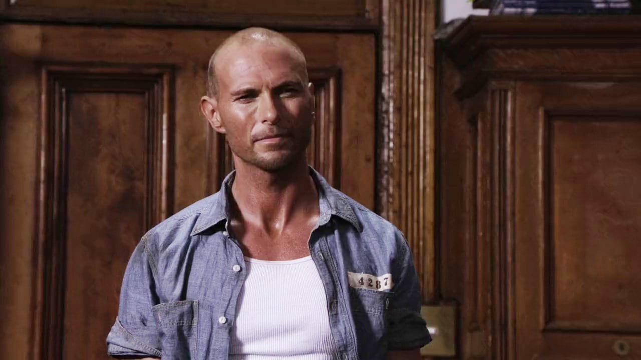 The new Frankenstein (Luke Goss)