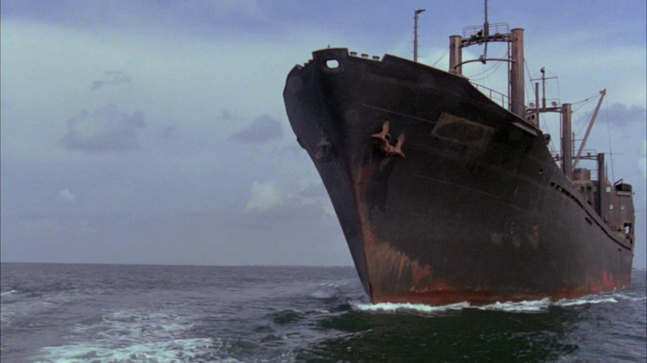The ghost ship in Death Ship (1980)