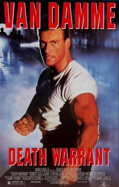Death Warrant (1990) poster