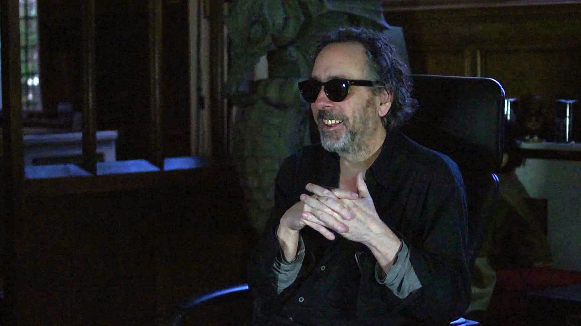 Tim Burton interviewed in The Death of Superman Lives What Happened (2015)