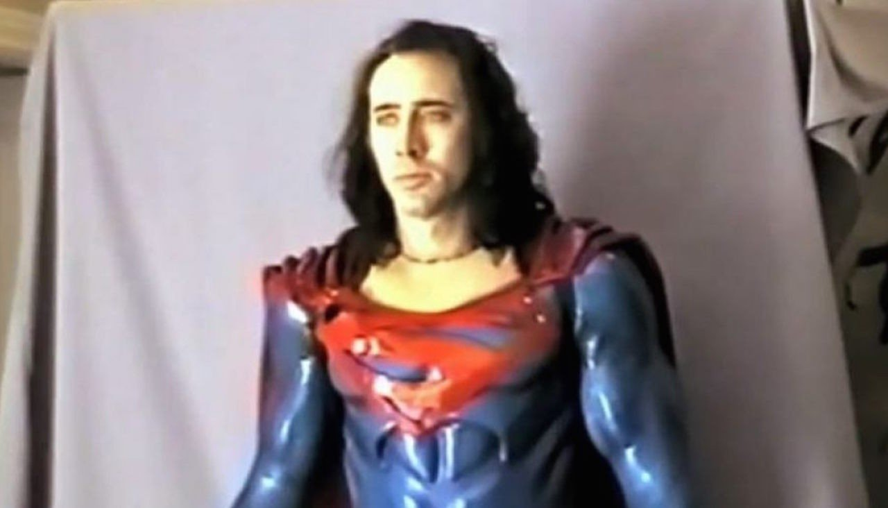 Nicolas Cage as Superman in The Death of Superman Lives What Happened (2015)