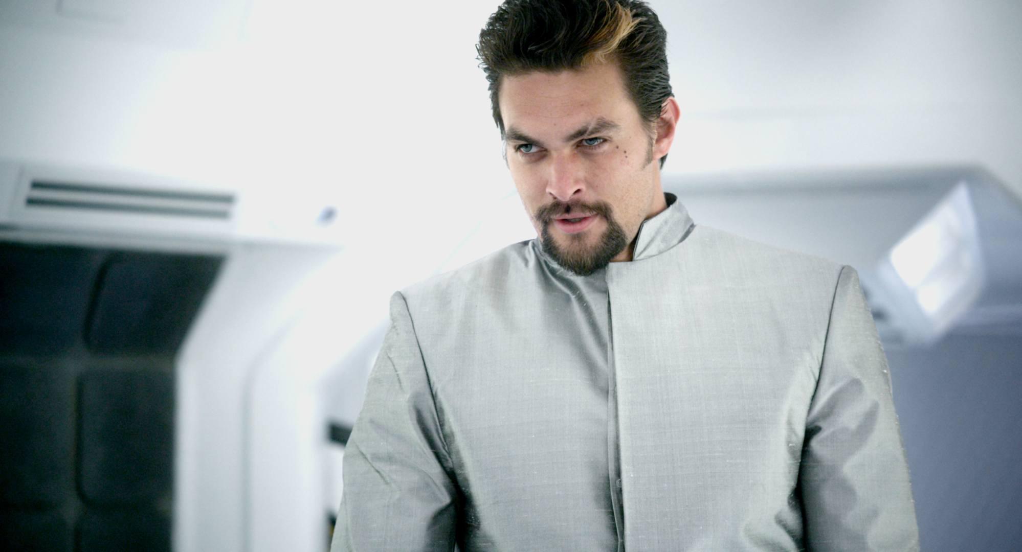 Jason Momoa as the malevolent A.I. I Am in Debug (2014)