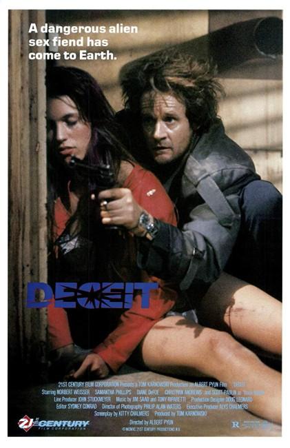 Deceit (1989) poster